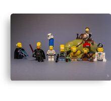 The StarWars Simpsons Canvas Print