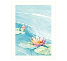 swamp lily Art Print