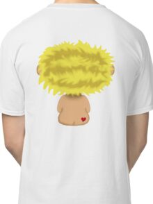 Blond Headed Boy with a heart on his cheek Classic T-Shirt