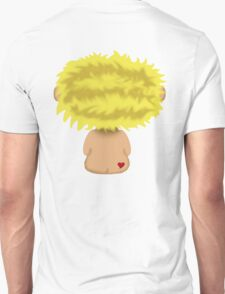 Blond Headed Boy with a heart on his cheek T-Shirt