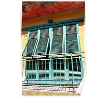 Balcony, Elba Poster