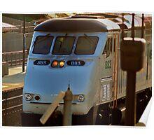 MetroLink Engine Poster
