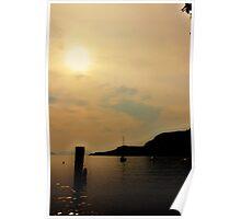lake garda landscape Poster