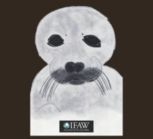 Save the Beautiful Seals IFAW Logo by Sarah Bentvelzen