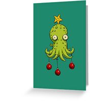 Christmas cephalopod Greeting Card