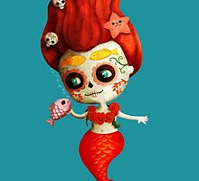 The Day of The Dead Mermaid by colonelle