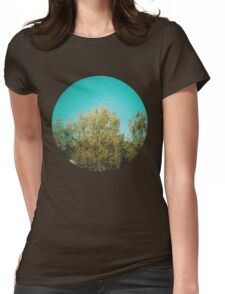 Blue Blue Sky Womens Fitted T-Shirt