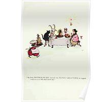 The Happy Heart Family Virginia Gearson 1907 0023 Heart House Poster