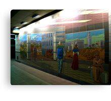 Union Station Art Canvas Print