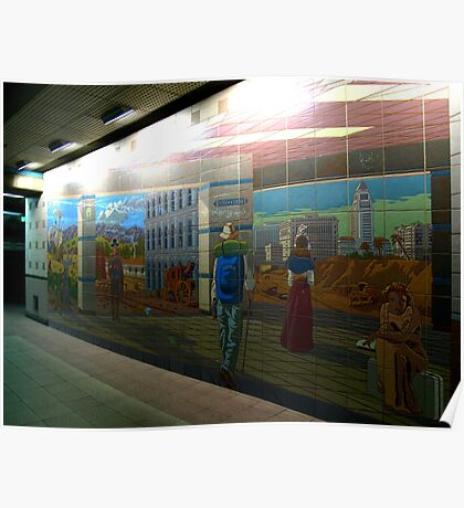 Union Station Art Poster