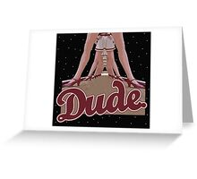 The Big Lebowski - Dude Greeting Card