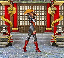 Asian Battle Woman by Vac1