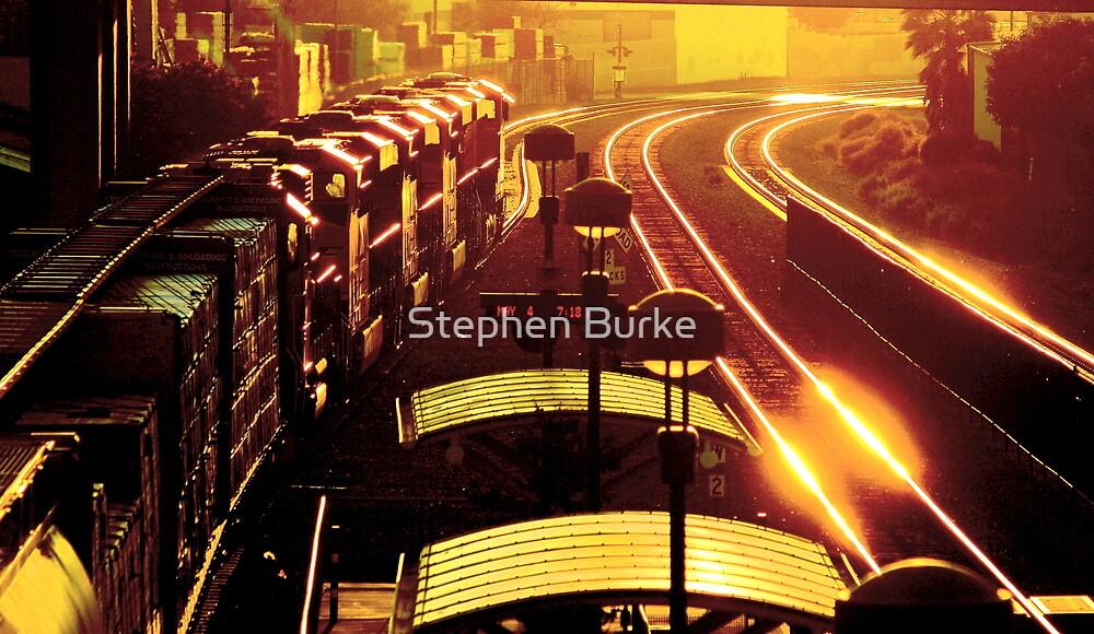 Departure, Corona, California by Stephen Burke