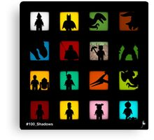 16 Shadows already (Colour Edition) Canvas Print