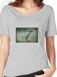 Pondering Penguin Women's Relaxed Fit T-Shirt