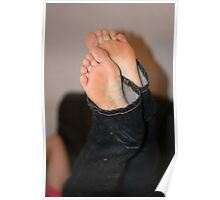Jeans and feet I Poster