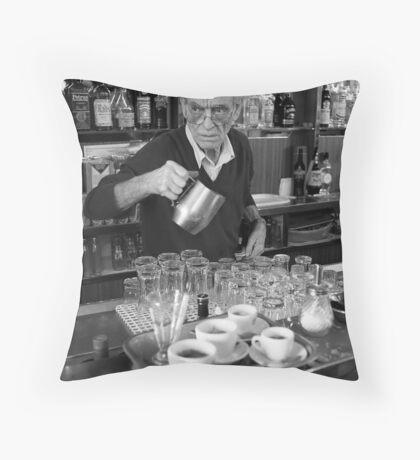 Café Testaccio Throw Pillow