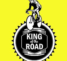 Retro Style Mens Racing Bike Road Touring Cycling Logo  by CreativeTwins