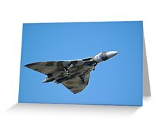 Vulcan Bomber Greeting Card