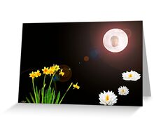 Visions Of Zen Greeting Card
