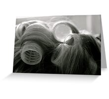 Potentially a good hair day Greeting Card