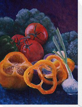 Veggie Still Life by Michael Beckett