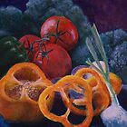 Veggie Still Life by Michael Beckett