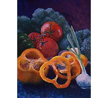 Veggie Still Life Photographic Print