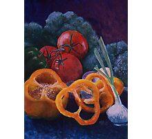 Veggie Still Life Photographic Print