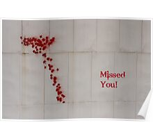 Missed You! Poster