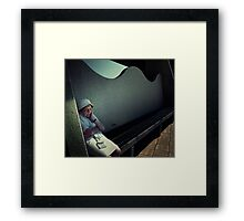 Hot but stylish. Framed Print