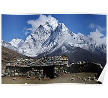 Home at Dingboche - Nepal Poster