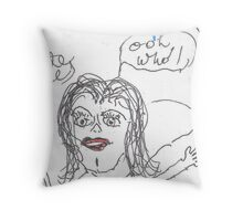 woo hoo Throw Pillow
