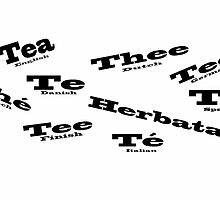 Tea in Languages by elaine pearson