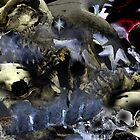 "Abstract - ""Skulls"" by Paul Liddement"