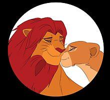 Simba and Nala by steffirae