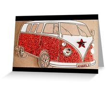 Sparkly Splitty Angel1 Greeting Card