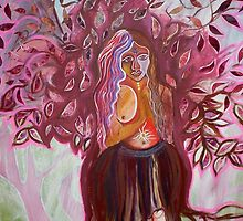 tree goddess by heidi chadwick