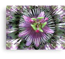 "Abstract - ""Guess the flower"" Canvas Print"