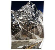 Cholatse - Cho La Valley, Nepal Poster