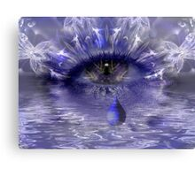 Tears Are Not Enough Canvas Print