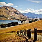 Lake Wanaka, New Zealand. by Michael Schön