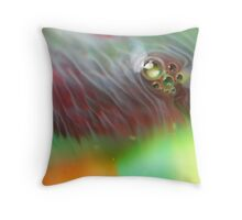 Colour Swirl Bubbles Throw Pillow