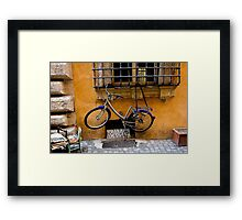 Go On Try It! Framed Print