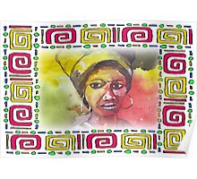 African woman - Ethnic series Poster