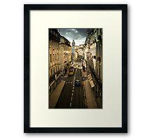 Tram, Lisbon Framed Print