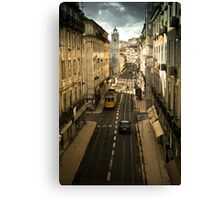 Tram, Lisbon Canvas Print