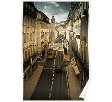 Tram, Lisbon Poster