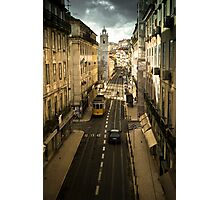 Tram, Lisbon Photographic Print