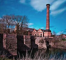Powick Bridge and Mill by Lissywitch